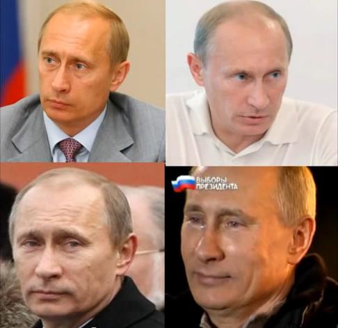 cambios de Putin